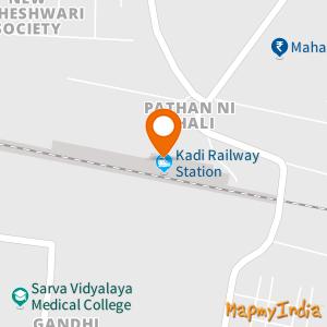 Kadi Railway Station, Pathan Ni Chali, Kadi, Gujarat, 382715
